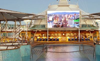 Royal Caribbean Rhapsody of the Seas outdoor movies