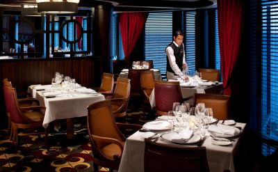 Royal Caribbean Rhapsody of the Seas chops grille